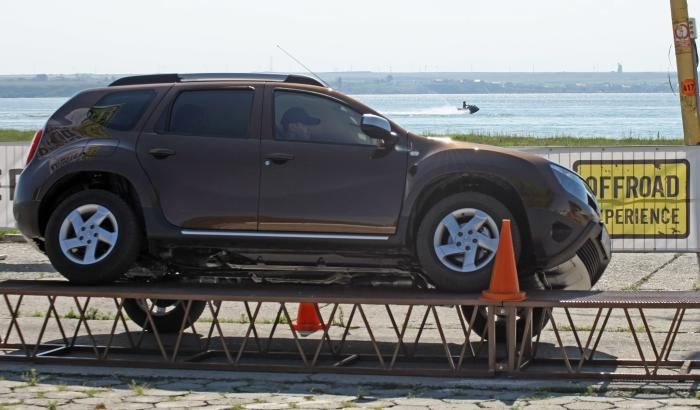dacia duster offroad experience mamaia dacia. Black Bedroom Furniture Sets. Home Design Ideas